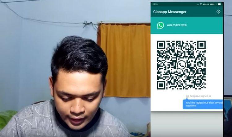 Cara sadap Whatsapp pacar (Youtube Bang SAS)