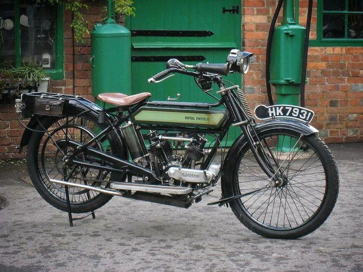 1914 Royal-Enfield 3hp - Pre-War Motorcycle