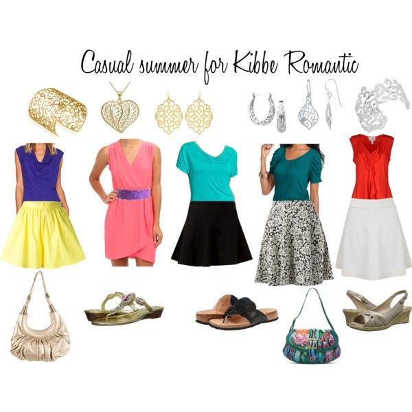 Casual summer for Kibbe Romantic by astphard on Polyvore f