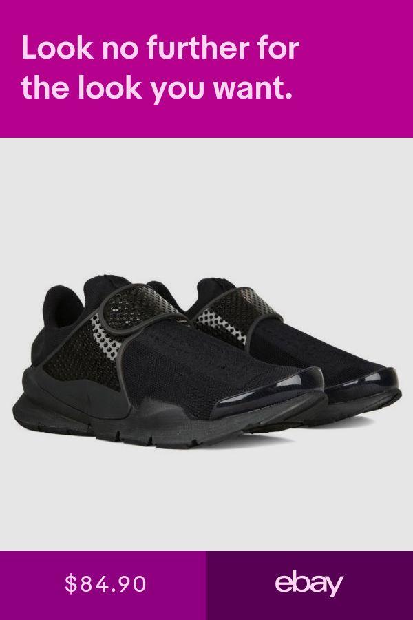 new product 57c94 da0ce Nike Sock Dart Triple Black 819686-001 Mens Sizes Training Sneakers All  Black
