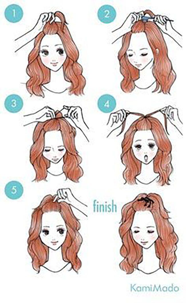 65 penteados fáceis e bonitos que podem ser feitos em apenas alguns minutos