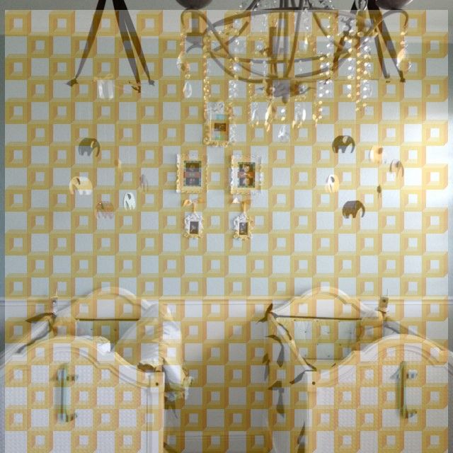 Zwei Spiegel Shabby Wandspiegel Rokoko Flurspiegel Frauen Antik Pärchen 180cm