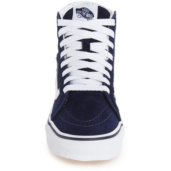 c7e7f568619f2 Women s Vans Sk8-Hi Slim High Top Sneaker ( 65) ❤ liked on Polyvore  featuring shoes