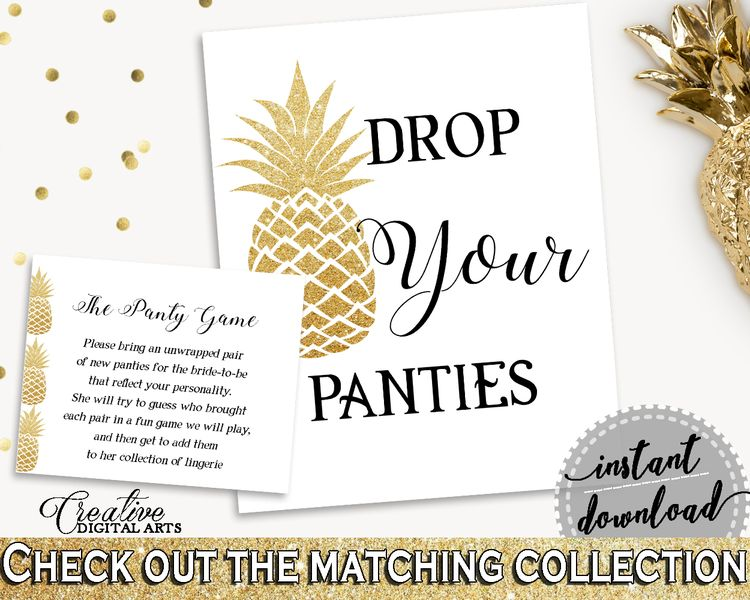 drop your panties bridal shower drop your panties pineapple bridal shower drop your panties bridal shower