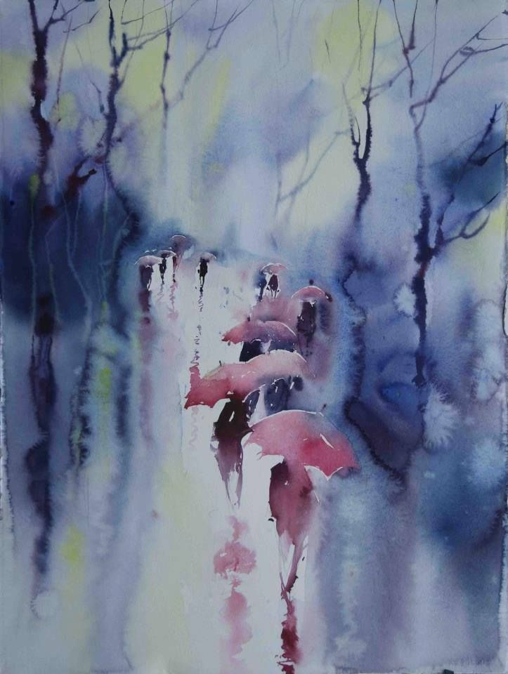 1000+ images about w deszczu op Pinterest - Regen, Aquarel ...