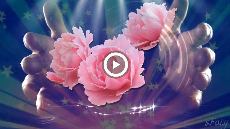 Видео открытки с цветами музыкальные