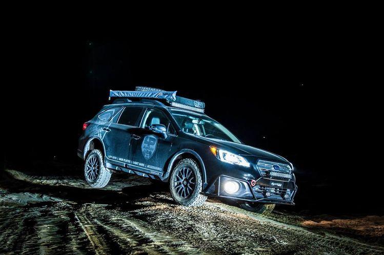 LP Aventure project car - 2016 Subaru Outback 3 6R