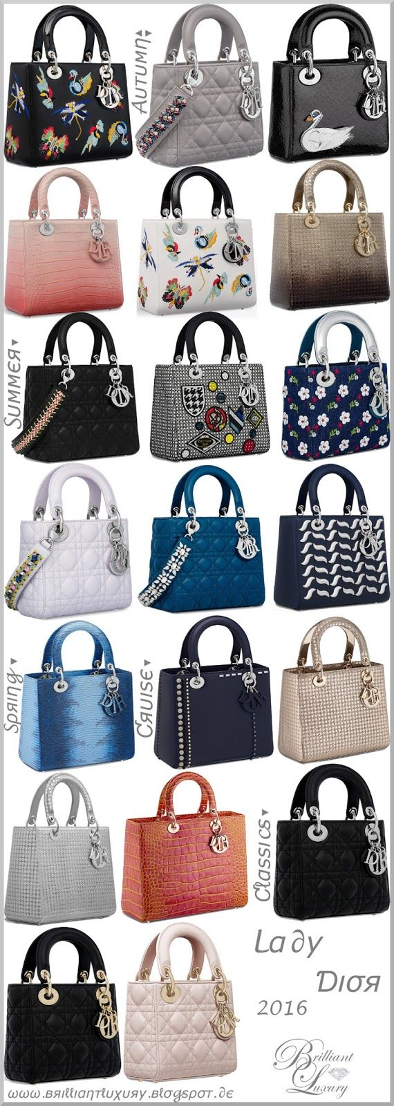 b891251a703 ♢Lady Dior bag collection