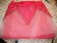 Sleeping Beauty skirt- and Under Armor running skirt and a