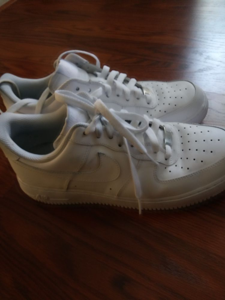 nike air force 1 white size 9.5  fashion  clothing  shoes  accessories   mensshoes  athleticshoes (ebay link) e48530203