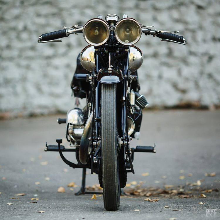 A Brough Superior SS100 surfaces in deepest Russia
