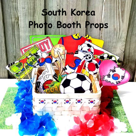 84ab879dafb World Cup SOUTH KOREA soccer photo booth props - the ultimate fan accessory  - 2018 FIFA Soccer Championship in Russia - support 대한민국