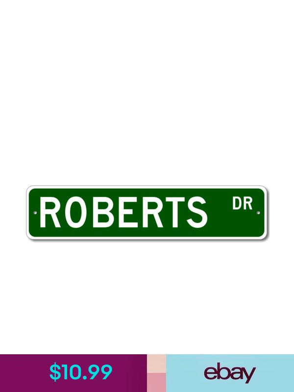 LETENDRE Street Sign Personalized Last Name Sign