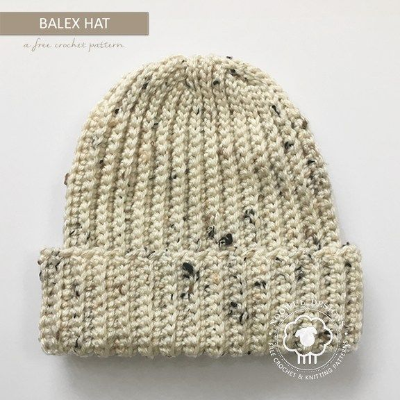 This is the only ribbed hat pattern you will ever need. Th