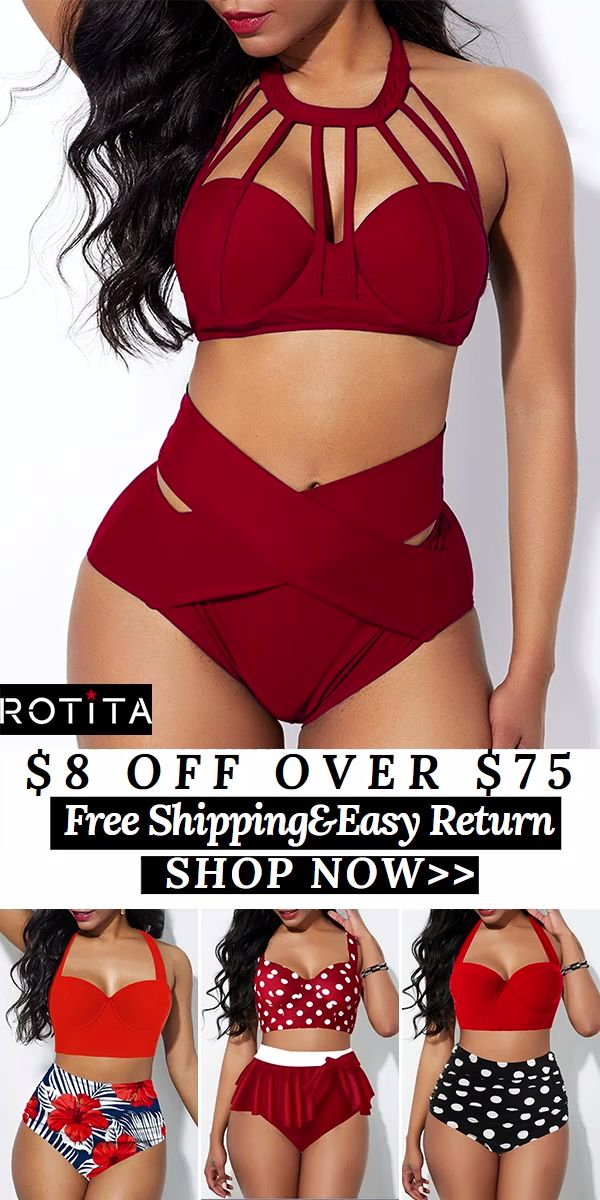 Sexy Boho  Beach Swimsuits For Girls