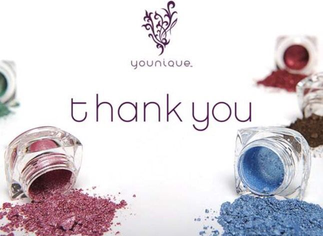 My New Thank You Cards For Younique Business MoodstruckMontana