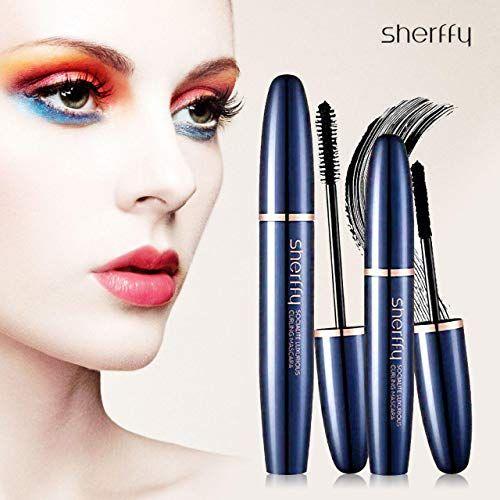 6f4c15e9300 Vassoul 4D Silk Fiber Lash Mascara Sets Waterproof Makeup Eyelash Extension  Sweat proof Long Curling Thick LongLasting Dramatic Extension Crazy Long ...