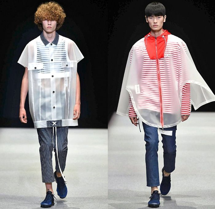 2df86de4e6e Munsoo Kwon Supported By Giorgio Armani 2018 Spring Summer Mens Runway  Catwalk Looks - Milano Moda Uomo Collezione Milan Fashion Week Italy -  Oversized ...