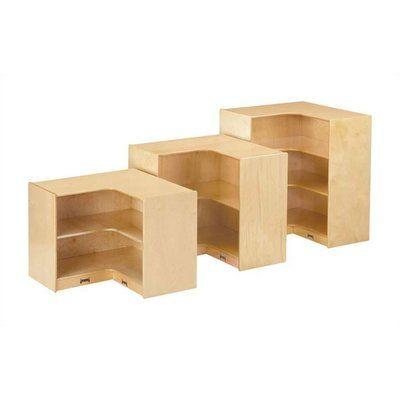 Jonti Craft KYDZ Suite Corner 6 Compartment Shelving Unit Size 355 H
