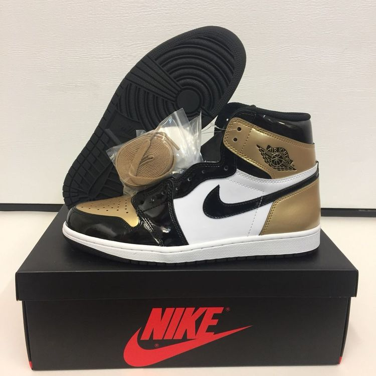 the latest 93106 aae7a Nike Air Jordan 1 Gold Toe Size 10 DEADSTOCK  fashion  clothing  shoes   accessories  mensshoes  athleticshoes  ad (ebay link)
