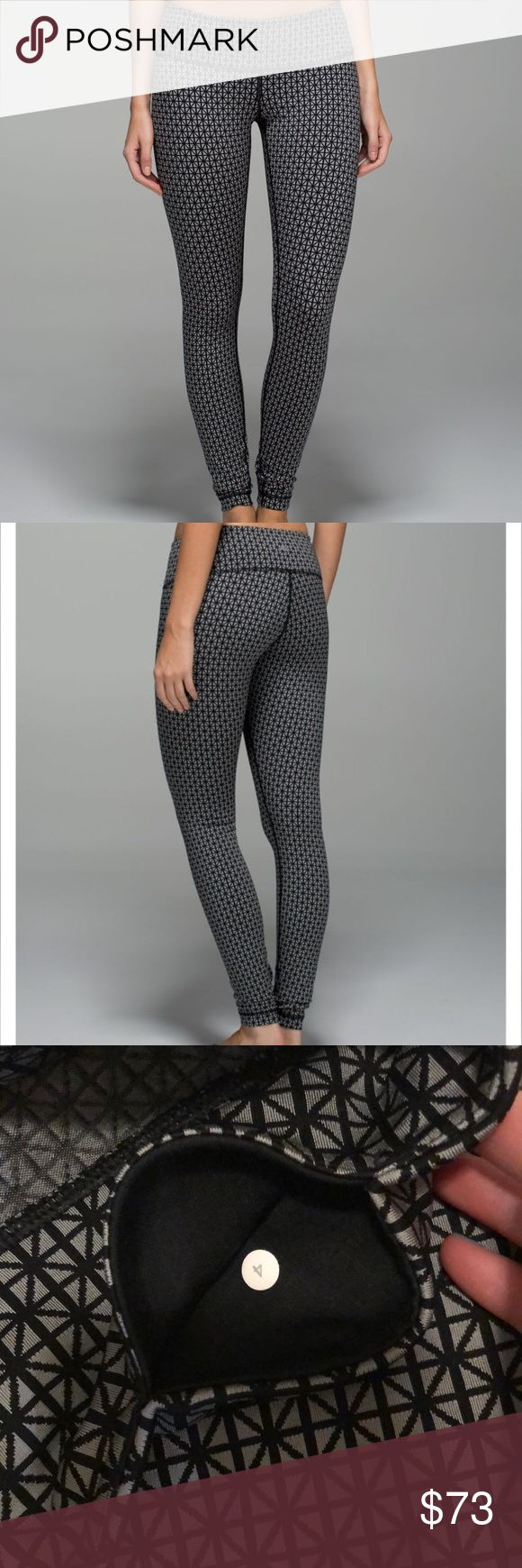 5419a672326e07 Lululemon Wunder Under Pant *Full-On Luon Material: Full-On® Luon