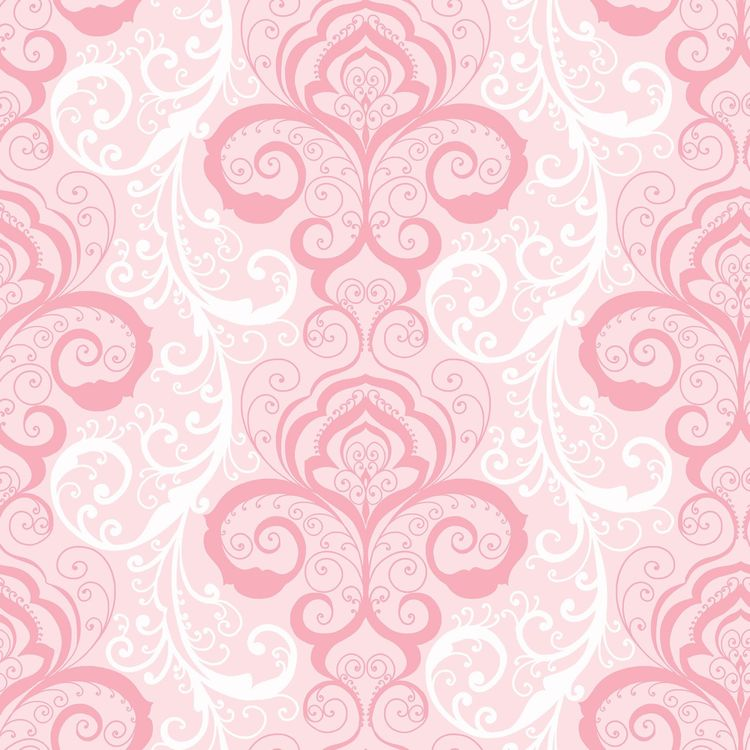 Vanessa Pink Henna Brocade Wallpaper Wallpaper