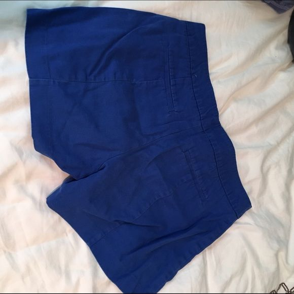 1820a4417d477 Blue linen blend shorts 3.5 inch inseam. Fabric has some stretch to it. I