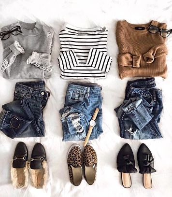 casual outfit flatlay @tinedeputy