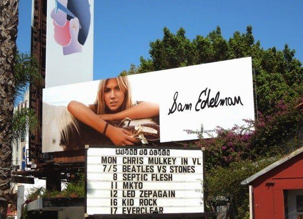 9358d5d8fd4 Kate Upton Sam Edelman shoes Summer 2014 billboard