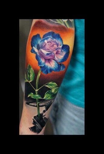 e105804060599 new tattoo. Rose that grew from concret Pinterest Media analytics ...