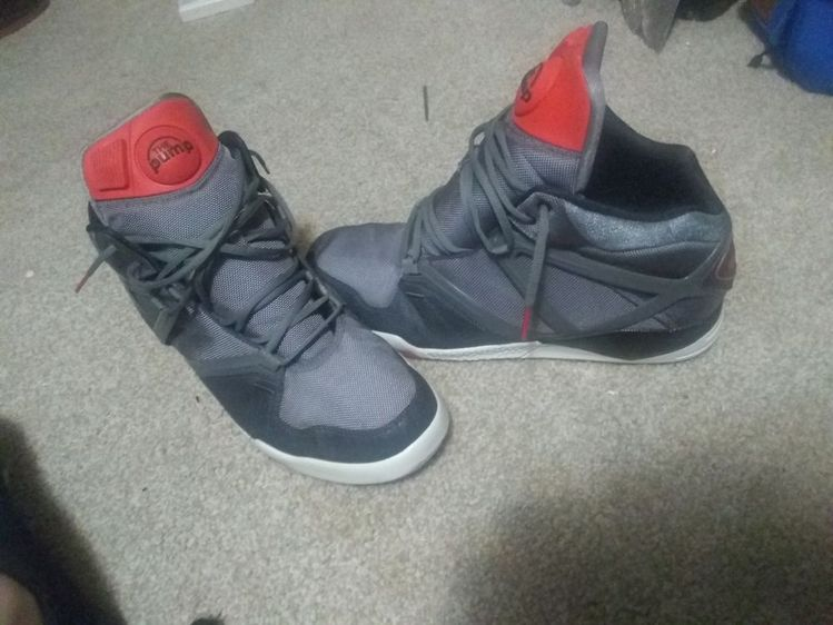 huge selection of 342c7 e63ef Reebok the Pump Sneakers Mens 13 grey red  fashion  clothing  shoes   accessories  mensshoes  athleticshoes (ebay link)