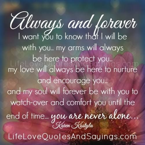 75 Forever And Always Love Quotes Soaknowledge