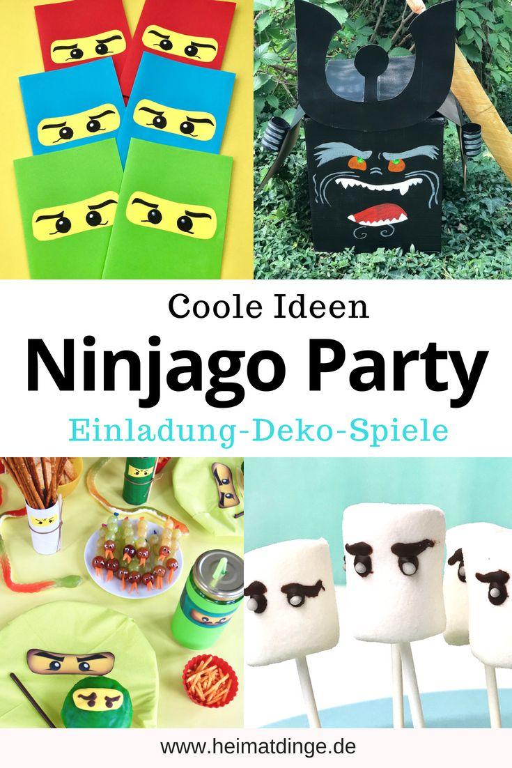 Coole Ideen Fur Einen Gelungenen Ninjago Geburtstag Hier F