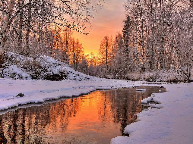 warm glow, stunning