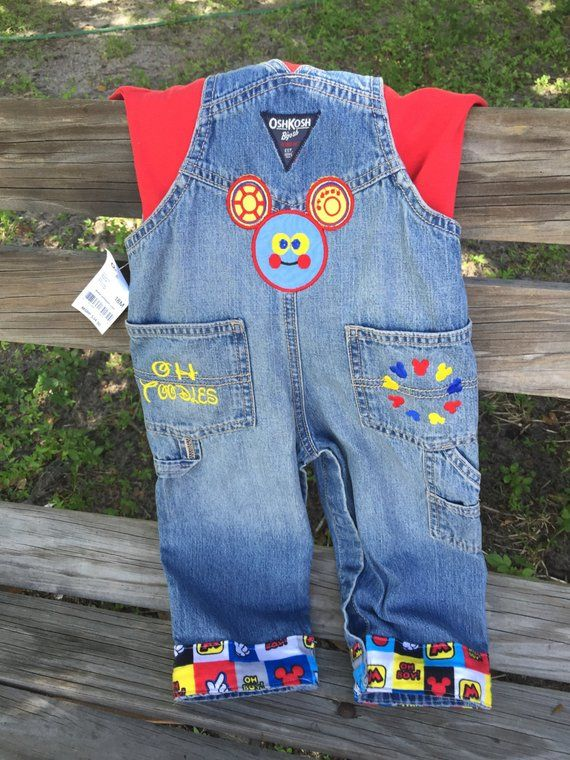Mickey Mouse Birthday Personalized Shortalls Or Overalls 1st 2nd 3rd 4th Birthdays First Second Thir