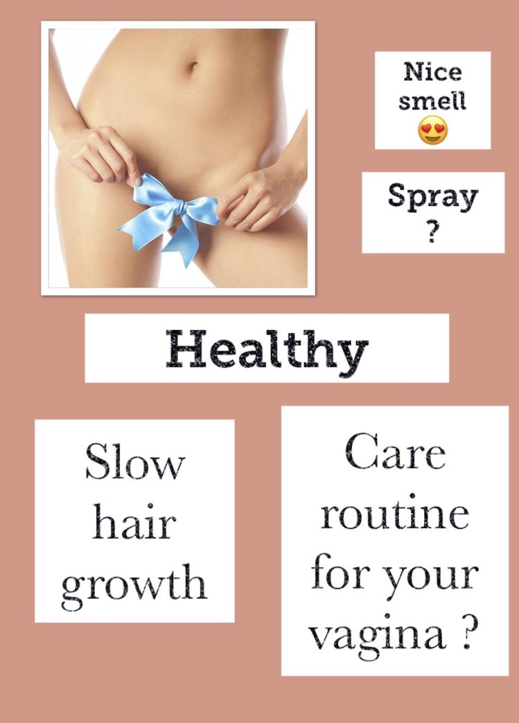Care routine vagina: soft touch and beautiful smell