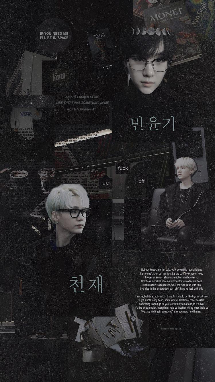 Min Yoongi Aesthetic Bts Aesthetics Amino Wallpaperzen Org