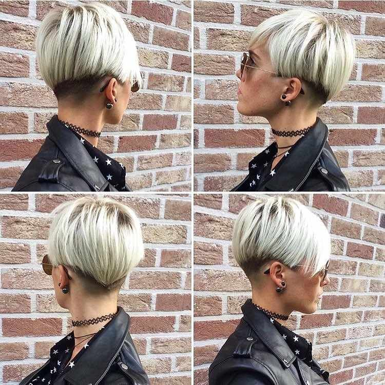 The Latest and Impressive Short Hairstyles of 2019 -  #blondehair #bobhair #Hair #haircuts #Hairstyles #pixiehair #shorthaircut #shorthairstyle - Short Hairstyles - Hairstyles 2019