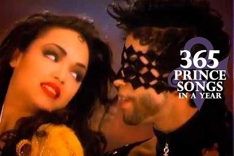 The single cover for Prince's 1992 Top 10 hit '7' ended up
