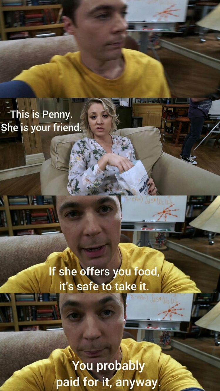 Sheldon will never let that go