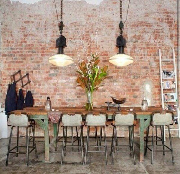 Wanddekoration Selber Machen , Wanddeko Selber Machen Gefälschte Backsteinwand Als Rusti