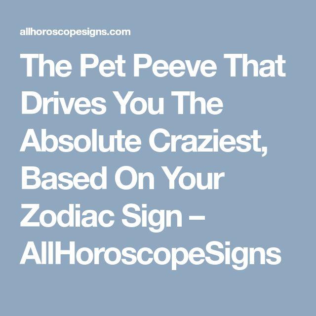 craziest horoscope signs