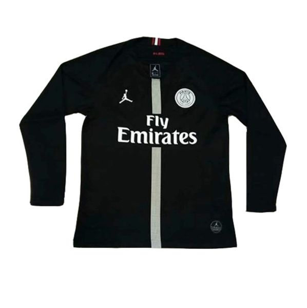 2dd4361b4130 Paris Saint-Germain F.C. Football club PSG Nike Jordan Black 2018-19 FÚTBOL  SOCCER KIT CALCIO SHIRT JERSEY FUSSBALL CAMISA TRIKOT MAILLOT MAGLIA  Camiseta ...