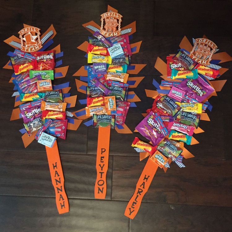 Candy Spirit Sticks Great Team Gifts Use Free Paint Stir
