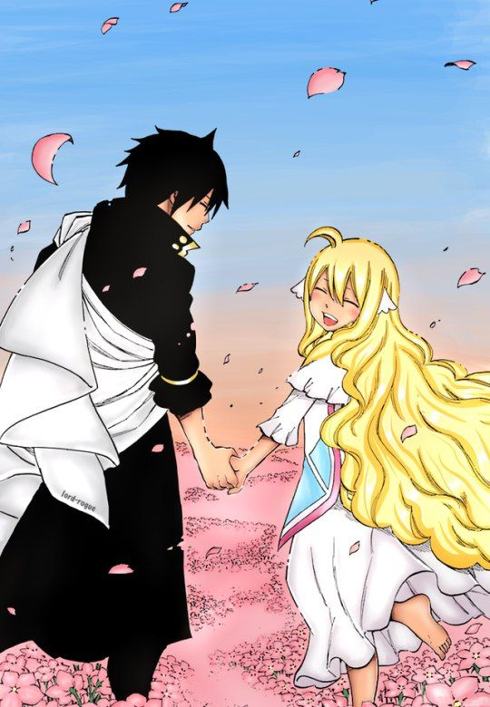 Fairy Tail chapter 537: Zeref and Mavis - together at last