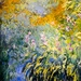 Claude Monet - Irises by the Pond, 1917 at the Virginia Museum of Fine Arts (VMFA) Richmond VA