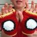Free Crochet Pattern - Iron Man Gloves