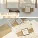 Elegant ivory and gold glitter wedding invitations for your big day