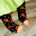 Baby Leg Warmers and Toddler Leg Warmers -- black strawberries. $8.00, via Etsy.