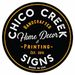 Chico Creek Signs